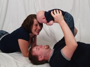 Familienleben mit Baby