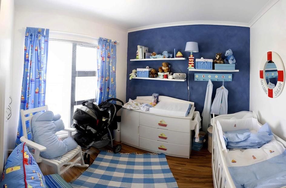 kinderzimmer junge baby blau | hyeyeonpark, Wohnideen design