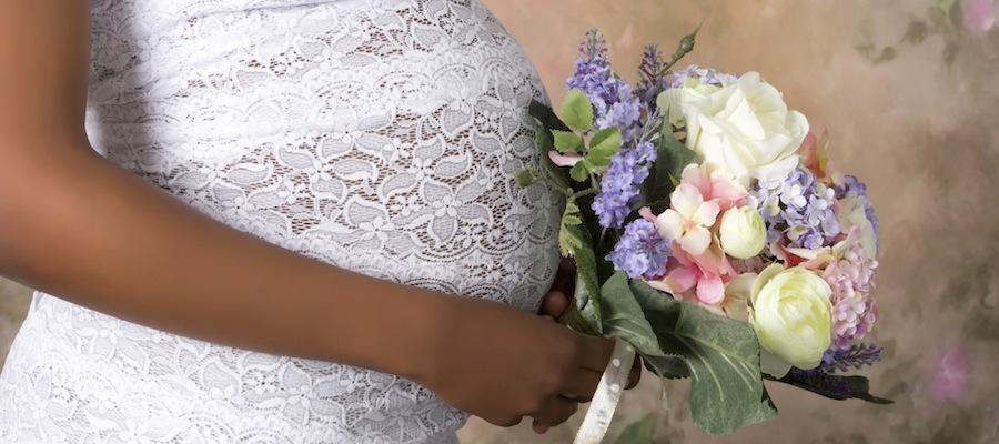 Heiraten im 7 monat schwanger