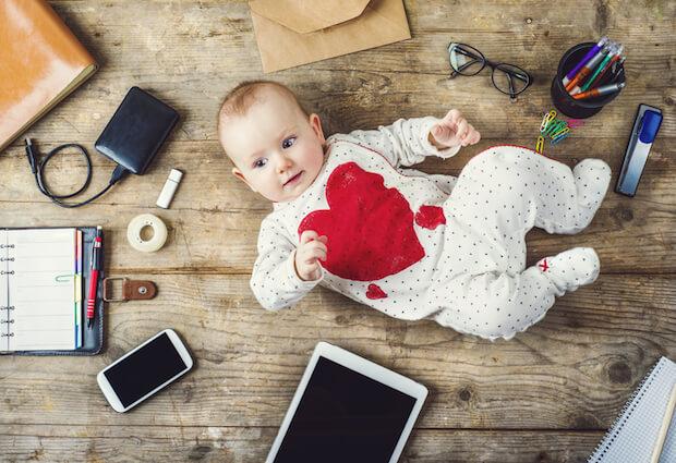 Baby-Gadgets erleichtern uns das Leben | © panthermedia.net / halfpoint