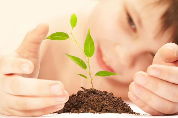 Gartenarbeit foerdert das Verantwortungsgefuehl | © panthermedia.net / cookelma