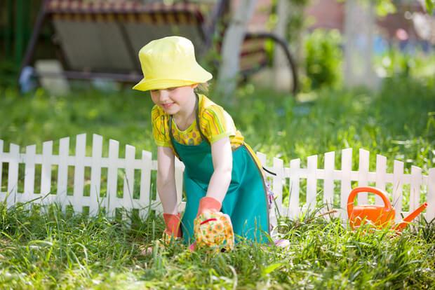 Kind im Garten   © panthermedia.net / Andrey Kryuchkov