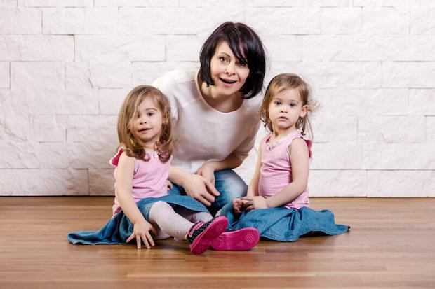 Zwillinge in der Familie |© panthermedia.net / superelaks