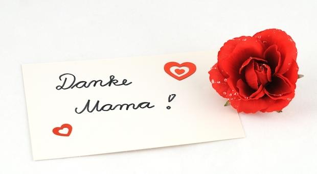 Danke Mama   © panthermedia.net /Ulrich Abels