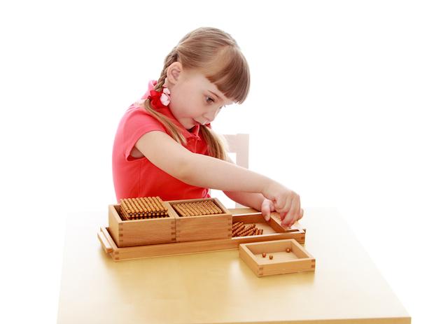 Spielzeug Montessori | © panthermedia.net /lotosfoto1