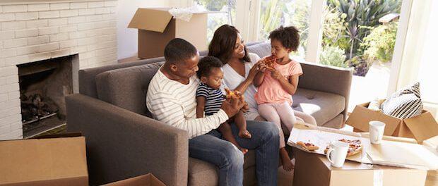 Wohlfuehlen im neuen Zuhause | © panthermedia.net / Cathy Yeulet