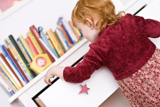 Kinderzimmer aufraeumen | © panthermedia.net /Thomas Ix