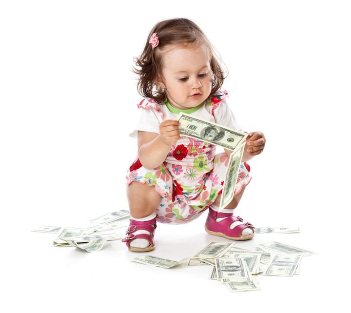 Baby finanzieren | © panthermedia.net /natulrich