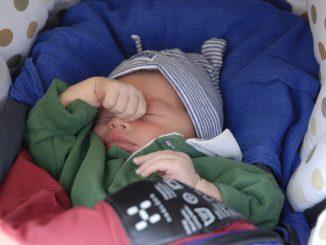 Baby am Schlafen | © panthermedia.net /Philipp Raspe
