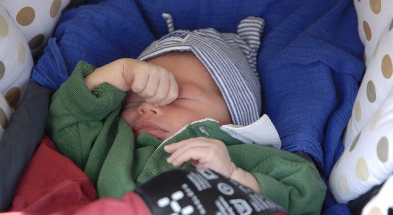 Baby am Schlafen   © panthermedia.net /Philipp Raspe